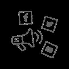 Social Media Marketing Gray